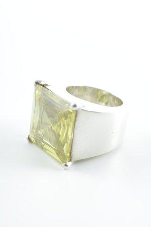 Thomas Sabo Silberring silberfarben-hellgrün Elegant