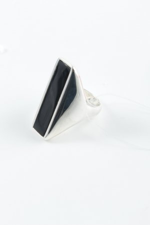 Thomas Sabo Silver Ring silver-colored-black simple style