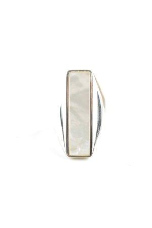 Thomas Sabo Silberring silberfarben-weiß Elegant
