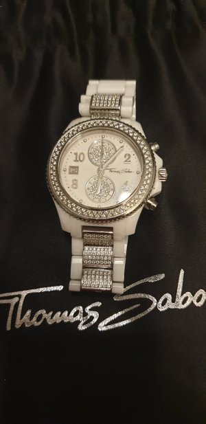 Thomas Sabo Watch Clasp white-silver-colored