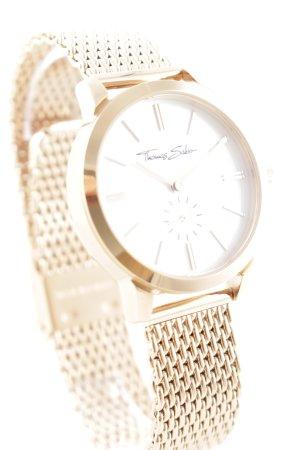 Thomas Sabo Uhr mit Metallband roségoldfarben Elegant