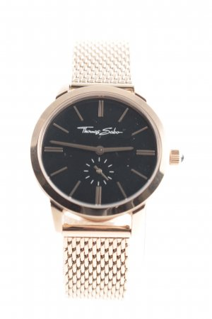 Thomas Sabo Watch With Metal Strap rose-gold-coloured-black business style