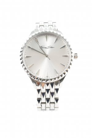 Thomas Sabo Uhr mit Metallband silberfarben Business-Look