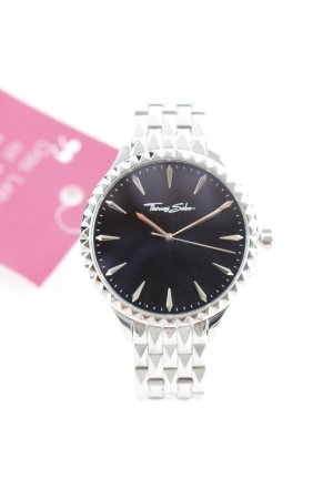 Thomas Sabo Watch With Metal Strap silver-colored wet-look