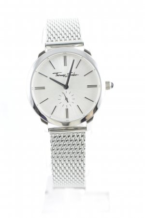 Thomas Sabo Watch With Metal Strap silver-colored-light grey casual look