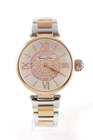 Thomas Sabo Uhr mit Metallband silberfarben-roségoldfarben Elegant