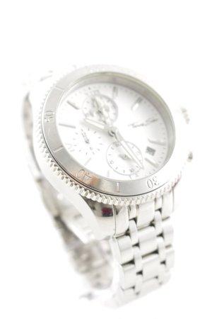 Thomas Sabo Horloge met metalen riempje wit-zilver casual uitstraling