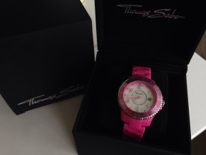 Thomas sabo Uhr pink Blogger perlmuttziffernblatt