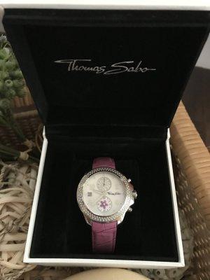Thomas Sabo Orologio argento-rosa