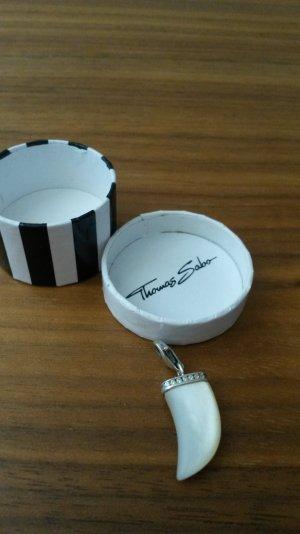 Thomas Sabo Zahn Charm perlmutt silber