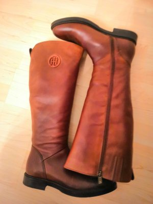 Tommy Hilfiger High Boots black-brown