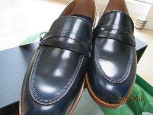 Tommy Hilfiger Schoenen donkerblauw Leer