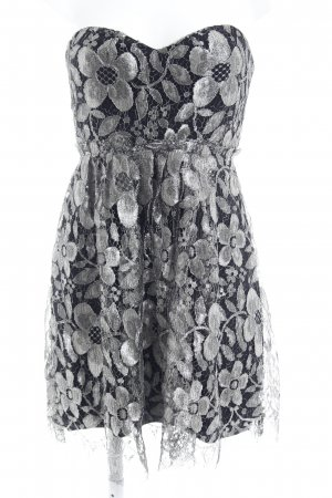 Thurley Bustier Dress black-silver-colored elegant