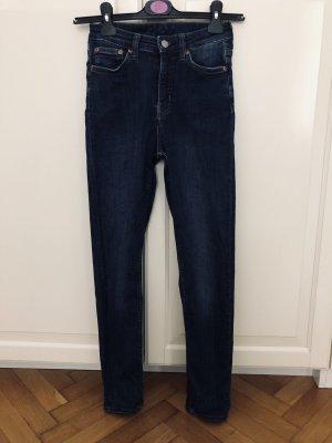 Weekday Hoge taille jeans veelkleurig