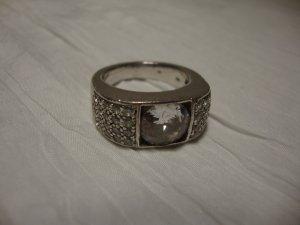 Ti Sento Silver Ring silver-colored-white real silver
