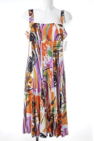 Tia Trägerkleid mehrfarbig extravaganter Stil