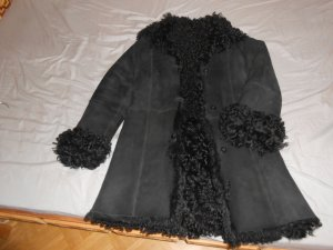 Kenzo Pelt Coat black fur