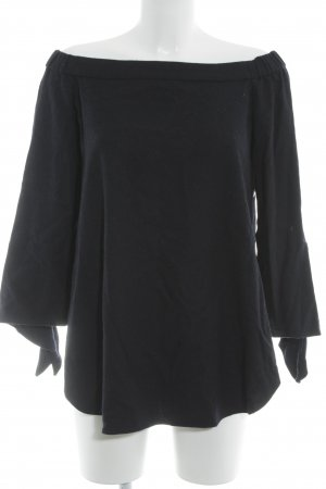 Tibi Carmen Shirt dark blue casual look