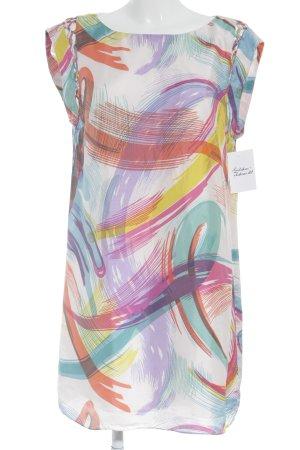 Tibi Minikleid abstraktes Muster extravaganter Stil