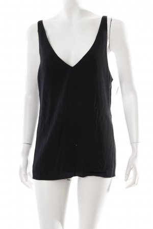 Tibi NYC Top con bretelline nero