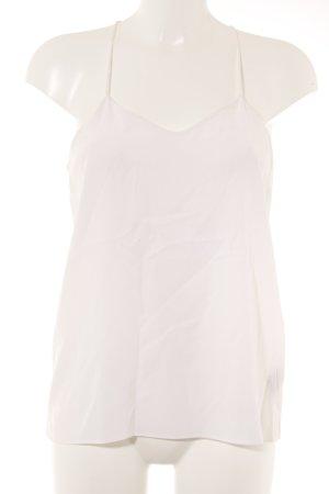 Tibi Haut en soie blanc style décontracté