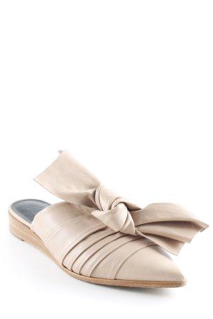 Tibi Pantoffels nude casual uitstraling