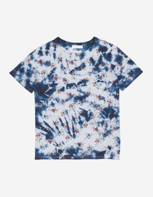 Tie & Dye Shirt von Sandro mit Blumen
