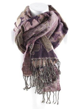 Tie Rack Wollschal abstraktes Muster Ethno-Look