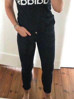 Tief Schwarze Hose/Jeans