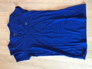 Lacoste V-hals shirt blauw-donkerblauw