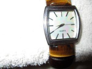 Orologio marrone Argento