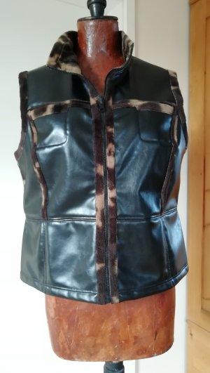 Blacky Dress Chaleco multicolor tejido mezclado