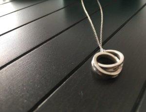 Tiffany Anhänger mit verschlungenen Ringen 1837