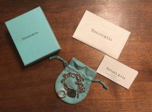 Tiffany Armband mit Herzanhänger und Knebelverschluss