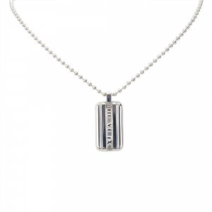 Tiffany Atlas Tag Pendant Necklace