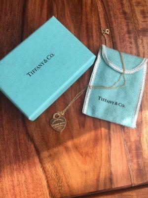 Tiffany & Co 750 Gold Kette + Anhänger