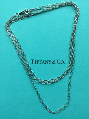 Tiffany & Co. Ankerkette Oval Link Chain aus Sterlingsilber, 80cm