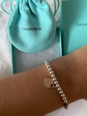 Tiffany&Co Bracelet argenté-or rose