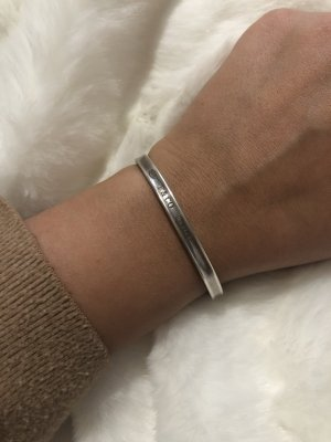 Tiffany&Co Bangle silver-colored