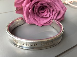 Tiffany&Co Bangle silver-colored real silver