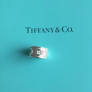 Tiffany & Co. Atlas breiter Ring Silberring, Silber 925
