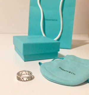 Tiffany & Co. Atlas Ring Silber