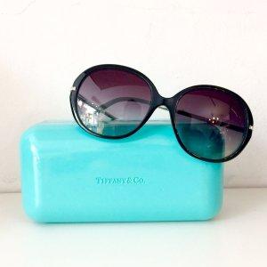 Tiffany&Co Occhiale nero-turchese Materiale sintetico