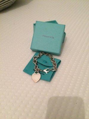 Tiffany & Co Charm- Armband mit Herzanhänger