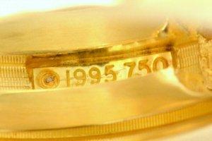 Tiffany&Co Orecchino giallo Oro