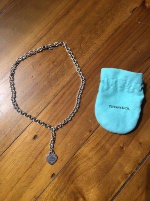 Tiffany & Co. Collier mit Herzanhänger (Sterlingsilber)