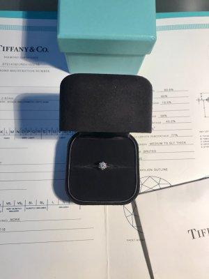 Tiffany & Co Diamantring, Platin 0,38 ct