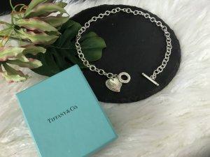 TIFFANY & Co.  Doppelherz Halskette .925 SSilber