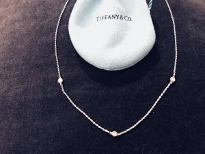 ++ Tiffany & Co. ELSA PERETTI DIAMONDS BY THE YARD Halskette ++