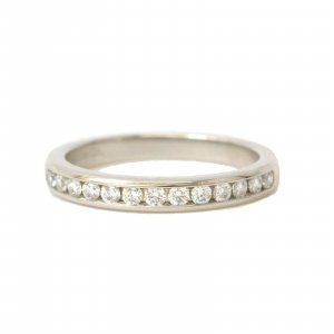 Tiffany & Co. Half Eternity Ring